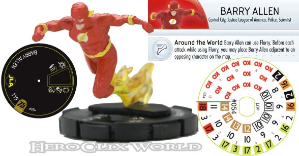 HeroClix DC 75th Spoilers Barry Allen