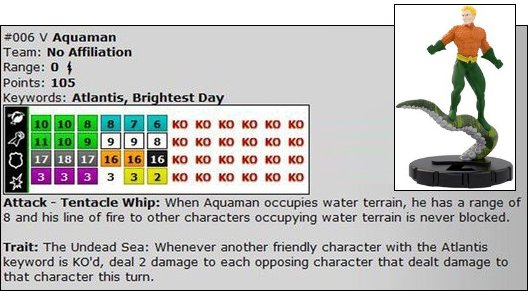 HeroClix Brightest Day spoilers