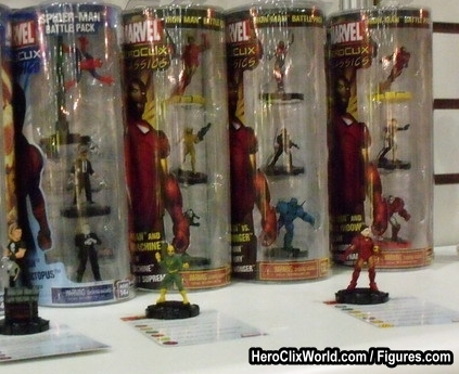 HeroClix Battle Packs