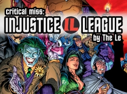 HeroClix Critical Miss Injustice League