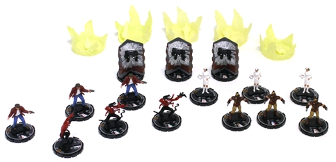 HeroClix Web of Spiderman Prizes