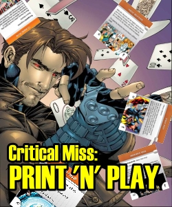 Critical Miss: Print and Play