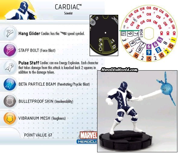 Cardiac Spider-man HeroClix