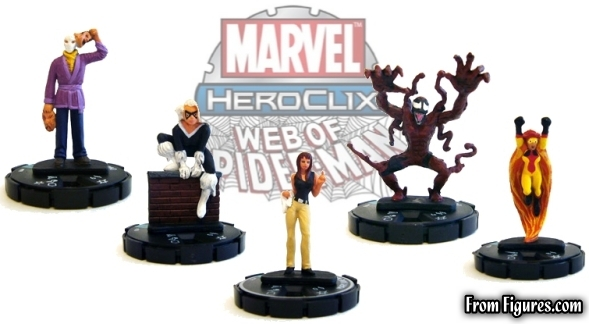 web of Spider-Man HeroClix Spoilers
