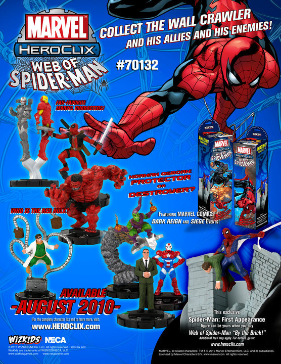 HeroClix Web of Spiderman