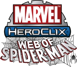HeroClix Web of Spiderman Logo