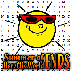 Summer of HeroClix World Ends