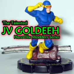 HeroClix World custom Goldeeh