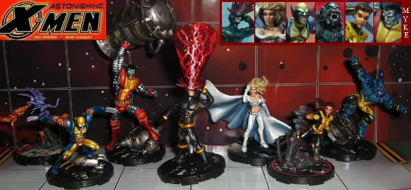 HeroClix Astonishing Xmen custom
