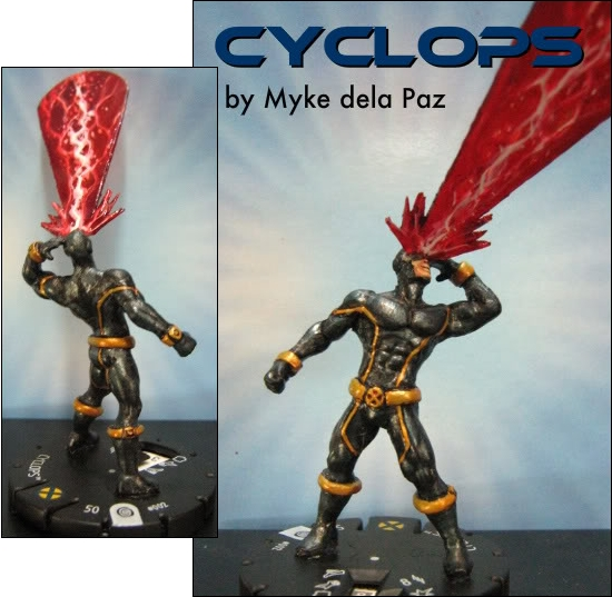HeroClix Custom Cyclops