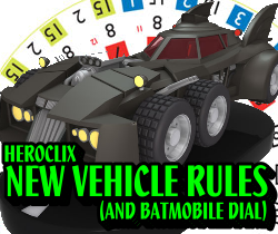 HeroClix Vehicle Rules