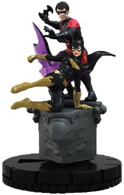 DC Batman HeroClix Robin and Batgirl