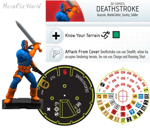 HeroClix Streets of Gotham Team Pack: Deathstroke