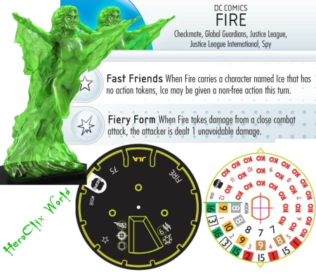 HeroClix Batman: Streets of Gotham FIRE DIAL