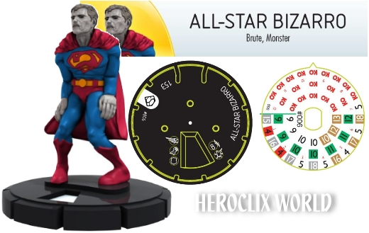 HeroClix All star Bizarro