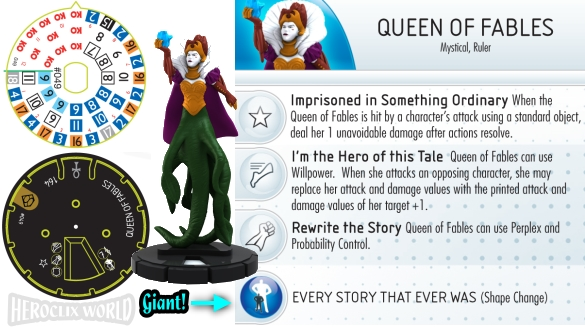 HeroClix Queen of Fables