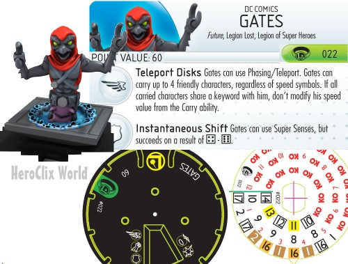 Gates Dial Legion of Superheroes