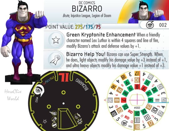 HeroClix Legion of Doom Starter Dials