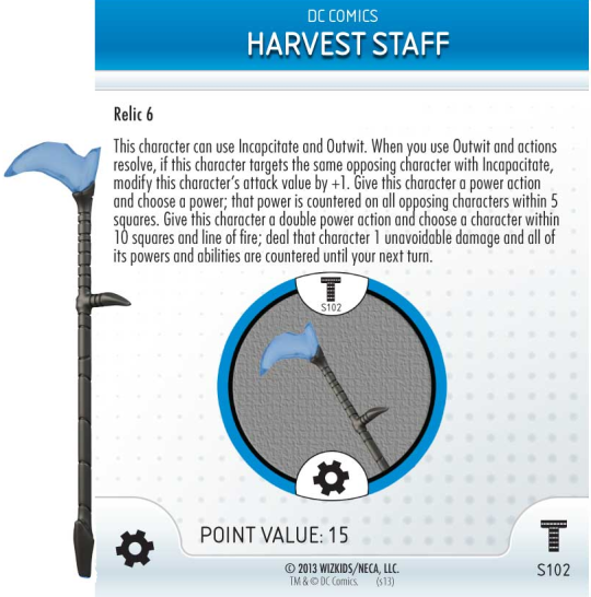 Harvest Staff Special Object