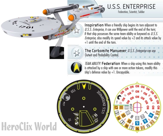 Star Trek Enterprise HeroClix