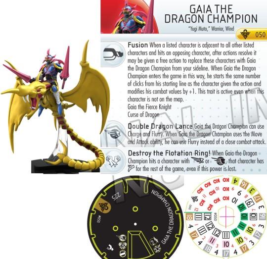 Gaia The Dragon Champion Misprint Top Orica Yugioh Pictu...