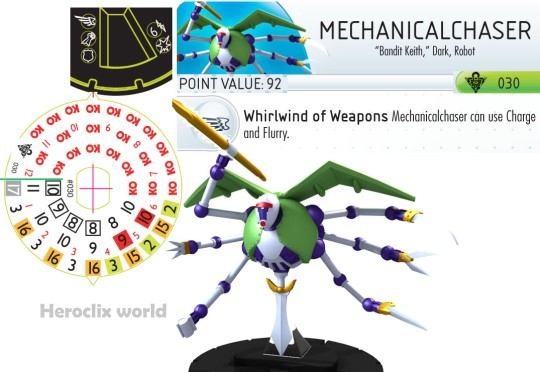 Heroclix Mechanical Chaser Dial