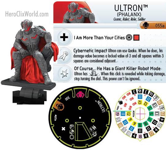 Age of Ultron Ultron HeroClix