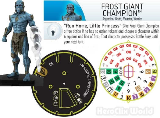 Frost Giant HeroClix Movie Avengers Spoilers
