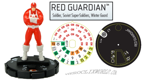 HeroClix Red Guardian
