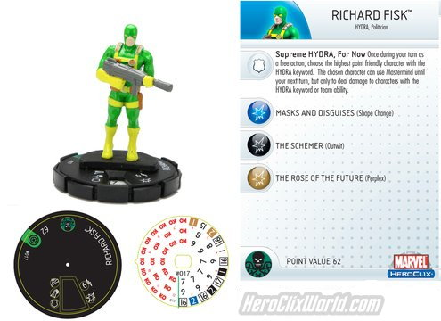 HeroClix Richard Fisk Preview