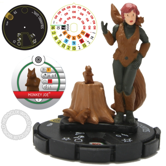 HeroClix Captain America Squirrel Girl Previews