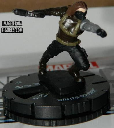 Captain America Winter Soldier HeroClix
