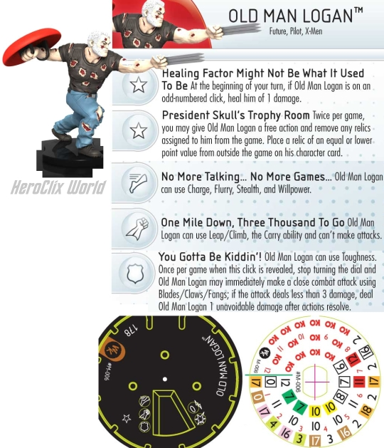 HeroClix Old man Logan
