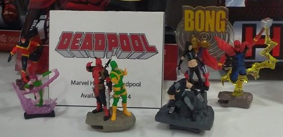 Deadpool HeroClix set
