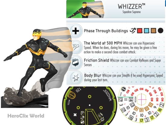 HeroClix Whizzer Dial