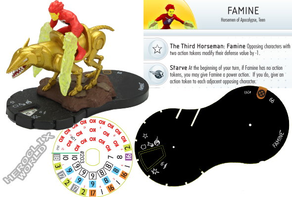 HeroClix Convention Exclusive Famine