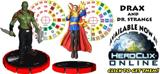 Drax and Dr. Strange HeroClix Online