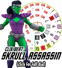 Galactic Guardians HeroClix Skrull Assassin