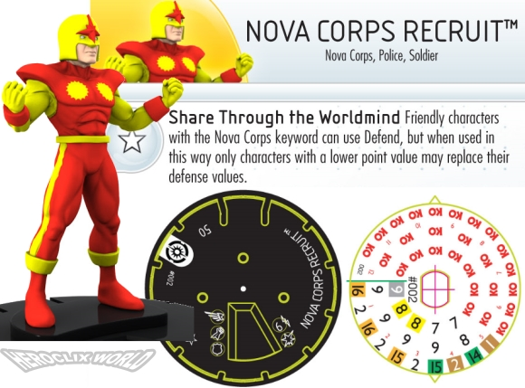 HeroClix Nova Corps Recruit