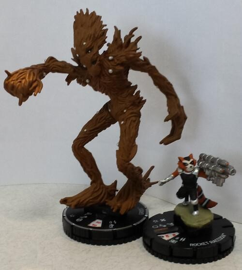 Groot HeroClix guardians of the Galaxy