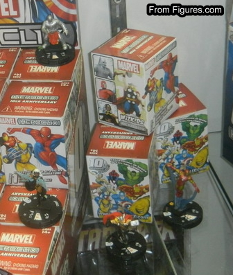 10th Anniversary HeroClix MARVEL Figures.com