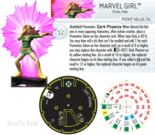 HeroClix marvel Girl