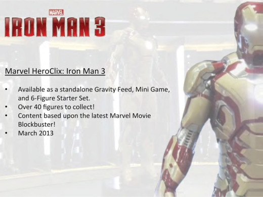 Iron Man 3 HeroClix Set