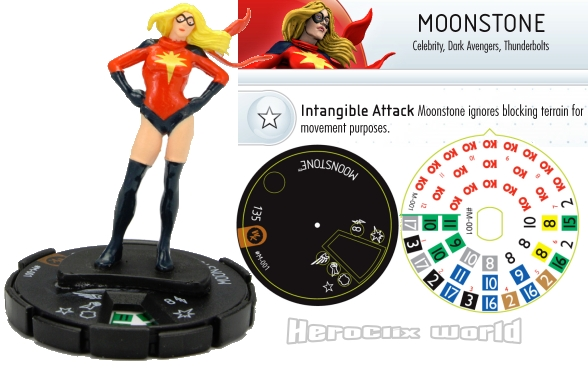 HeroClix Convention Exclusive Moonstone