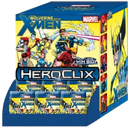 HeroClix Gravity Feed Wolverine and the X-Men