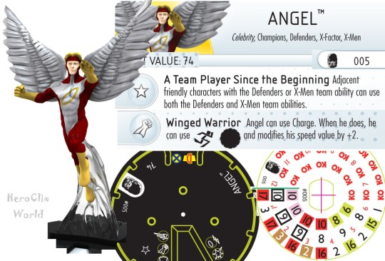 HeroClix angel Dial Days of Future Past