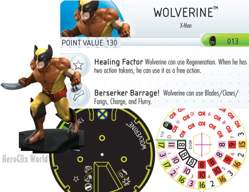 HeroClix Wolverine Days of Future Past
