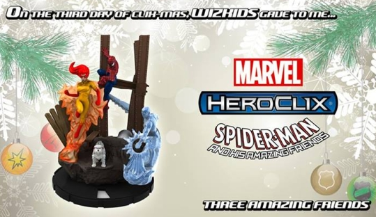 HeroClix 12 Days of Clixmas 2013