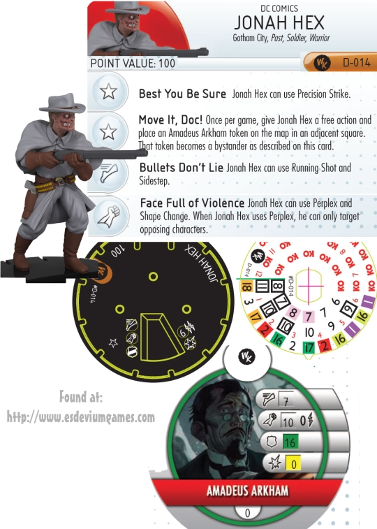 HerocLix Jonah Hex Dial convention Exclusive