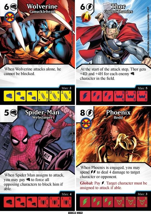 Heroclix World Marvel Dice Masters Avengers Vs X Men
